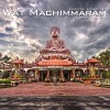 Wat Machimmaram Color and Black and White HDR Photography